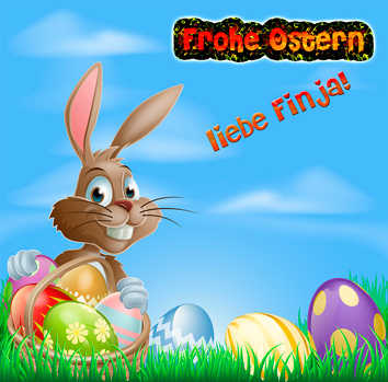 """Frohe Ostern..."" - Lied als MP3"